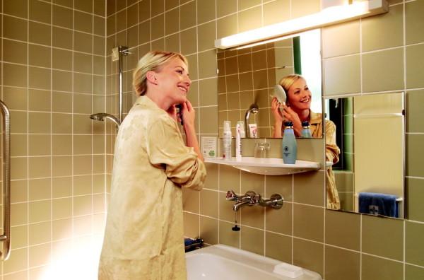Badezimmer Privatklinik der Kreuzschwestern