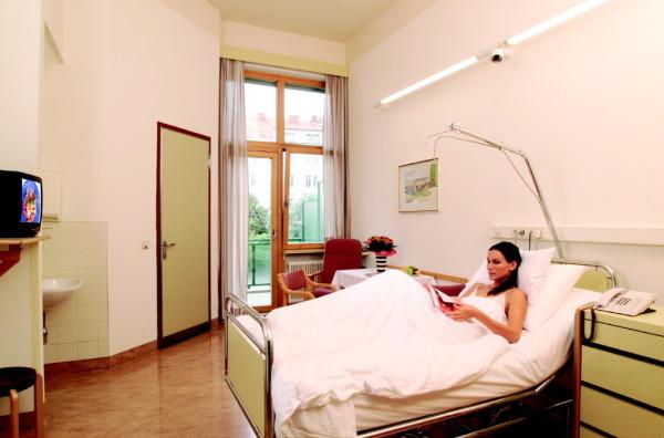 Zimmer Privatklinik der Kreuzschwestern