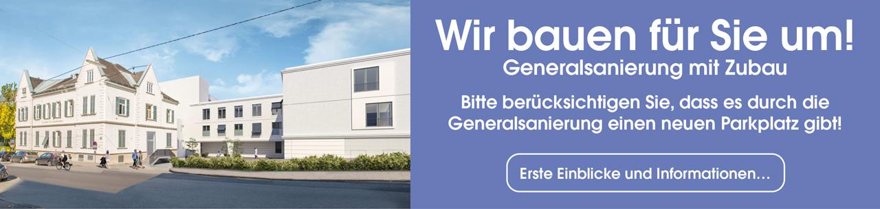 Kreuzschwestern Graz Umbau